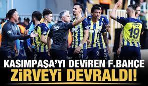 Fenerbahçe zirveyi devraldı! - Tüm Spor Haber