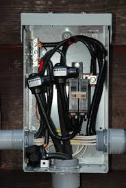 the ac power and emergency generator system at w5jgv Wiring Generator To Breaker Box the wires going into the lower conduit are for the underground feeder running to the new ham shack art studio we are constructing wiring generator to circuit breaker box