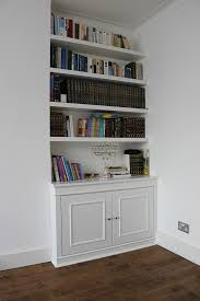 Made To Measure Floating Shelves White Wardrobe company Floating shelves boockcase cupboards fitted 2
