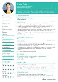 Digital Marketing Resume Template Marketing Manager Resume Example Update Yours Now For 24 17