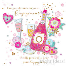 Congratulations Design Engagement Card Congratulations