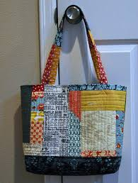 Sew Inspired: Giveaway Winner! and Quilted Tote Bag & bag other side2 Adamdwight.com