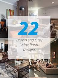 brown gray livingroom