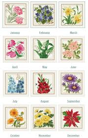 Month Flowers Chart Brownies Chair Flower Of The Month Sal