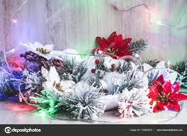 Weihnachts Dekor Weihnachten Oder Neujahr Hintergrund