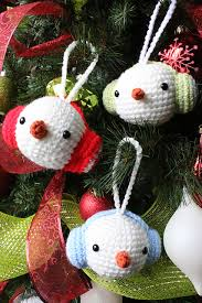 Christmas Ornament Patterns Extraordinary 48 Cute Free Crochet Christmas Ornaments Patterns To Decorate Your