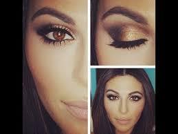 dark skin skin black hair simple eye makeup tutorial for brown eyes