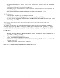 Job Description: Director Of Chaplaincy Services Pages 1 - 4 - Text ...
