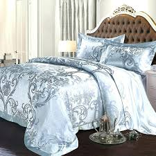 goth bedding sets bedding set grey and silver luxury tribal print pattern retro royal style noble goth bedding