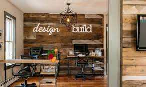 bring reclaimed wood into your home office