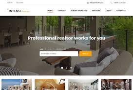Real Estate Website Templates Gorgeous 28 Real Estate HTML Website Templates Postashio