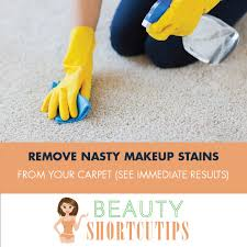 how to remove makeup base from carpet beste