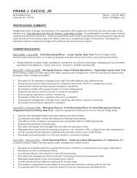 Hedge Fund Resume Template Best of Hedge Fund Manager Resume Templates Betogether