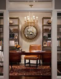 kansas oak hidden home office. KSMID Studio - Eclectic Home Office Atlanta KS McRorie Interior Design Kansas Oak Hidden