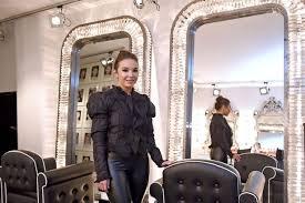 make up artist holly tam in her new salon on gart avenue childwall