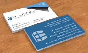 Elegant Traditional Real Estate Business Card Design For A Company