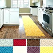 rug runners for kitchen rugs and attractive yellow runner with best hallway images on modern was