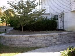 retaining walls wall fence ideas