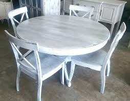 rustic round dining table for 4 gray round kitchen table best grey wash ideas on rustic