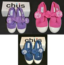 Chus Shoes Size Chart New Girls Monogrammed Mary Jane Bow Shoes