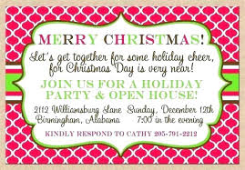 Holiday Dinner Invitation Template Employee Christmas Party Invitation Wording Guluca