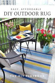 how to paint an outdoor rug designs