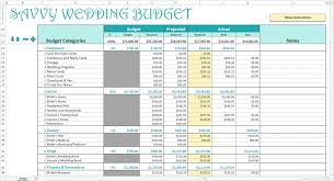 Spreadsheet Examples Wedding Guest List Budget Template Excel Sample ...