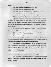 "fdr s ""day of infamy"" speech national archives  text of speech as delivered"