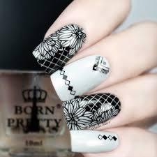 Aliexpress.com : Buy BORN PRETTY Square Nail Art Stamp Template ...