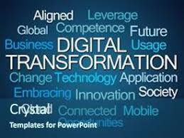 Top Digital Transformation Powerpoint Templates Backgrounds Slides