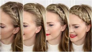 Sue S Hair Design Four Headband Braids Missy Sues Channel Has Great Tutorials