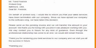Official Mails Sample Sample Sales Termination Official Letter Assignment Point