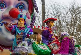 Float Riders Toss Beads, Cups And Doubloons To Fans And Revelers In The  2013 Krewe