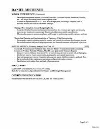 Financial Analyst Resume Objective Financial Operations Analyst Resume Sample New Cv Example Senior 21