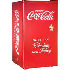 Coke Vending Machine Manuals Simple Nostalgia Mini Fridge Electrics Coca Cu Ft Red Manual Life In The Know