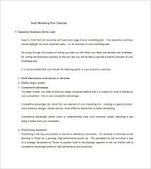 executive business plan template small business business plan template small business plans inside