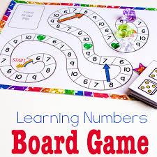Printable Kids Free Printable Counting Game Numbers 6 10 Life Over Cs