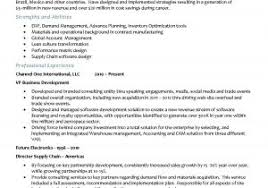 Director Of Supply Chain Resume Example Scm Resume Format Lovely ...