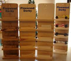 Pinewood Derby Display Stand Plans