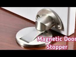 magnetic door stops stainless steel