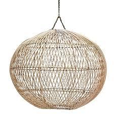 rattan pendant lighting. Handwoven Rattan Pendant Light Shade, Ball Lighting E