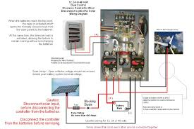 solar power system wiring diagram agnitum me how to hook up solar panels to rv batteries at Caravan Solar Wiring Diagram