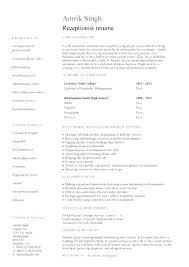 Sample Resume Medical Receptionist – Resume Directory