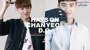 eng 160609 exo mcountdown mini fanmeeting and interview video eng 160408 hats on x exo chanyeol d o interview video