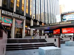 Hulu Theater At Madison Square Garden On Broadway In Nyc