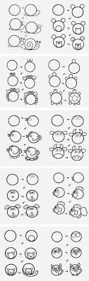 Drawing Animals From A Circle