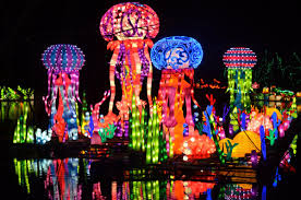 Chinese Light Festival Pomona Magical Chinese Lantern Festival Los Angeles Ca At
