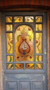 edwardian art nouveau stained glass