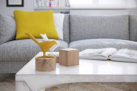 Yellow Accessories For Living Room Mellow Yellow 7 Soothing Apartments With Sunny Accents