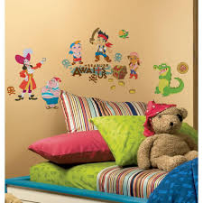 roommates jake and the neverland pirates l and stick wall decors
